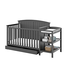 Steveston 4 in 1 Convertible Crib and Changer with Drawer