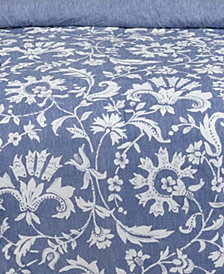 Porcelain Full/Queen Duvet Set