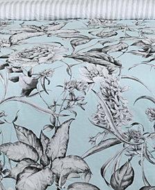 Sketch Floral Full/Queen Duvet Set