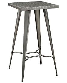 Modway Direct Metal Bar Table