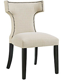 Modway Curve Fabric Dining Chair