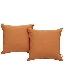 Modway Convene Two Piece Outdoor Patio Pillow Set