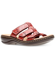 1349a60facf217 Clarks Collections Women s Leisa Lacole Flat Sandals   Reviews ...