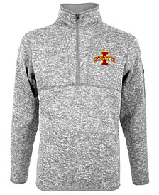 Antigua Men's Iowa State Cyclones Fortune Quarter-Zip Pullover