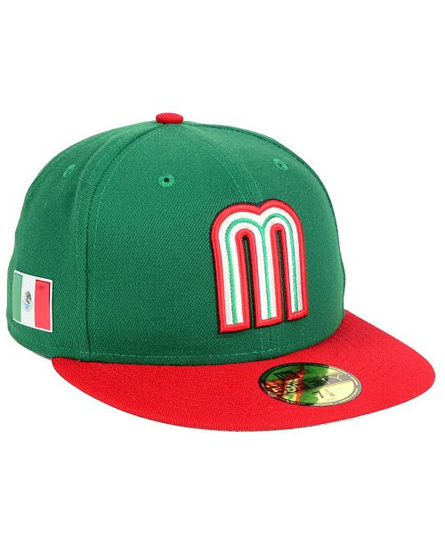 7c93cd9ca38 New Era Mexico World Baseball Classic 59FIFTY Fitted Cap   Reviews ...