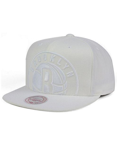 41baa6b33 Brooklyn Nets Cropped XL Logo Snapback Cap