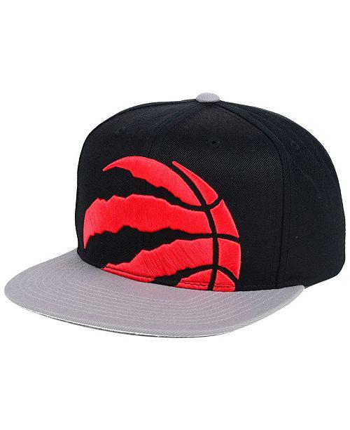 690cd0ce14b ... Mitchell & Ness Toronto Raptors Cropped XL Logo Snapback ...