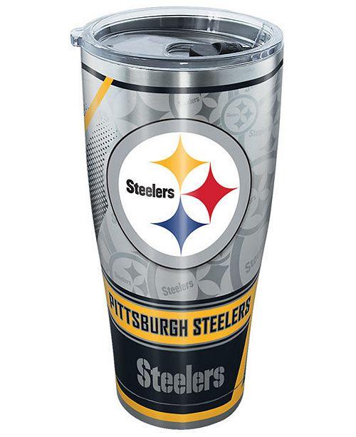 Tervis Tumbler Pittsburgh Steelers 30oz Edge Stainless Steel Tumbler
