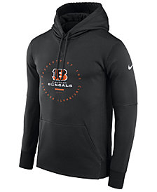 Nike Men's Cincinnati Bengals Property Of Therma Hoodie