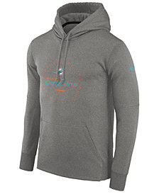 Nike Men's Miami Dolphins Property Of Therma Hoodie