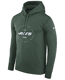 Nike Men's New York Jets Property Of Therma Hoodie
