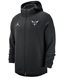 Nike Men's Charlotte Hornets Dry Showtime Full-Zip Hoodie