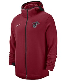 Men's Miami Heat Dry Showtime Full-Zip Hoodie