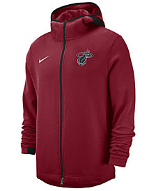 Nike Men's Miami Heat Dry Showtime Full-Zip Hoodie