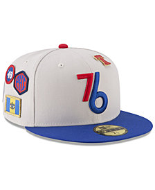 New Era Philadelphia 76ers City On-Court 59FIFTY FITTED Cap