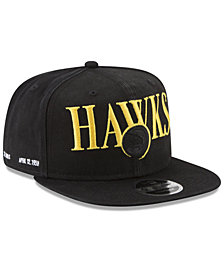 New Era Atlanta Hawks 90s Throwback Roadie 9FIFTY Snapback Cap