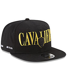 New Era Cleveland Cavaliers 90s Throwback Roadie 9FIFTY Snapback Cap