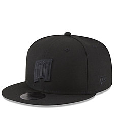 New Era Orlando Magic Alpha Triple Black 59FIFTY FITTED Cap
