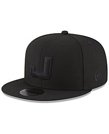 New Era Utah Jazz Alpha Triple Black 59FIFTY FITTED Cap