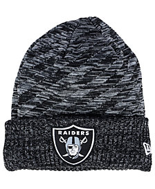 New Era Boys' Oakland Raiders Touchdown Knit Hat