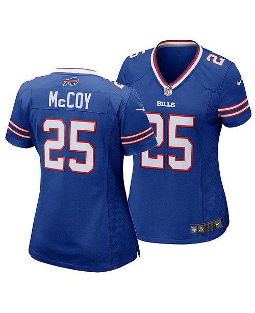 48f34312e1ce1 Women's LeSean McCoy Buffalo Bills Game Jersey