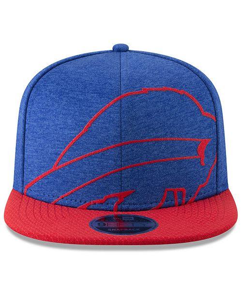 070ca4b3878d7 New Era Buffalo Bills Oversized Laser Cut 9FIFTY Snapback Cap - Sports Fan  Shop By Lids - Men - Macy s
