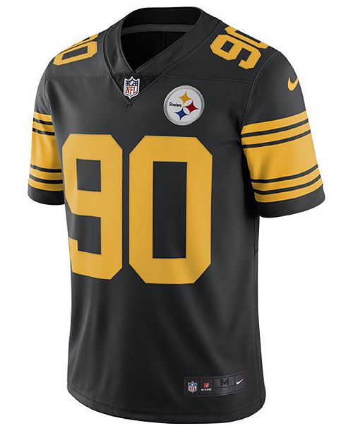 lower price with 549b8 2d03b Nike Men's T.J. Watt Pittsburgh Steelers Limited Color Rush ...