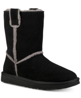 ugg women s classic short spill seam boots boots shoes macy s rh macys com