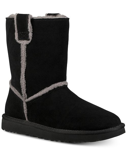 aa20b624e0 UGG® Women s Classic Short Spill Seam Boots   Reviews - Boots ...