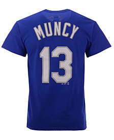 Majestic Men's Max Muncy Los Angeles Dodgers Official Player T-Shirt