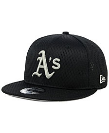 New Era Oakland Athletics Batting Practice Mesh 9FIFTY Snapback Cap