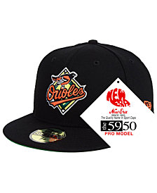 New Era Baltimore Orioles Retro Stock 59FIFTY FITTED Cap