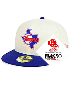New Era Texas Rangers Retro Stock 59FIFTY FITTED Cap