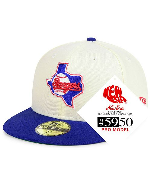 New Era Texas Rangers Retro Stock 59FIFTY FITTED Cap - Sports Fan ... 0f3503d119fb