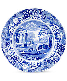 "Spode ""Blue Italian"" Luncheon Plate, 9"""