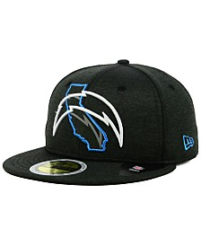 New Era Los Angeles Chargers State Flag Reflective 59FIFTY FITTED Cap