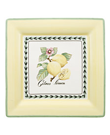 Villeroy & Boch Dinnerware, French Garden Macon Square Dinner Plate