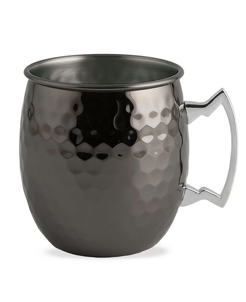 Thirstystone Black Faceted Moscow Mule Mug
