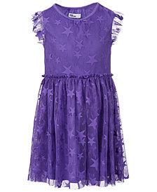Epic Threads Toddler Girls Star Mesh Dress, Created for Macy's