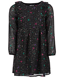 Epic Threads Little Girls Chiffon Sparkle Dress, Created for Macy's