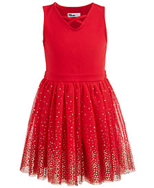 Epic Threads Little Girls Tulle Party Dress, Created for Macy's