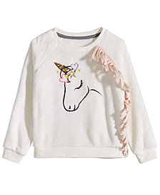 Epic Threads Toddler Girls Unicorn-Print Sweatshirt, Created for Macy's