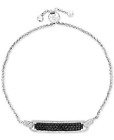 EFFY® Diamond Bolo Bracelet (1 ct. t.w.) in 14k White Gold