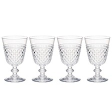 Hudson 14oz Tritan Acrylic 4-Pc. Goblet Set