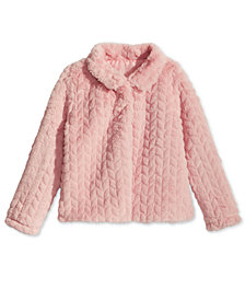 Epic Threads Little Girls Faux Fur Jacket, Created for Macy's