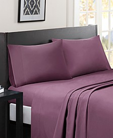 Micro Splendor 4-PC California King Sheet Set