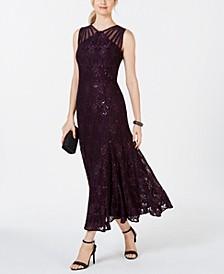 Long Sequin Gown