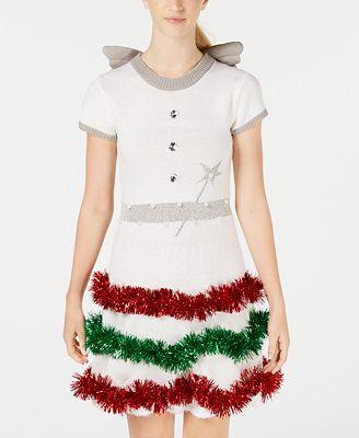 Planet Gold Juniors Holiday Angel Dress Dresses Juniors Macy S