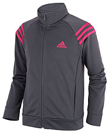 adidas Big Girls Front-Zip Jacket