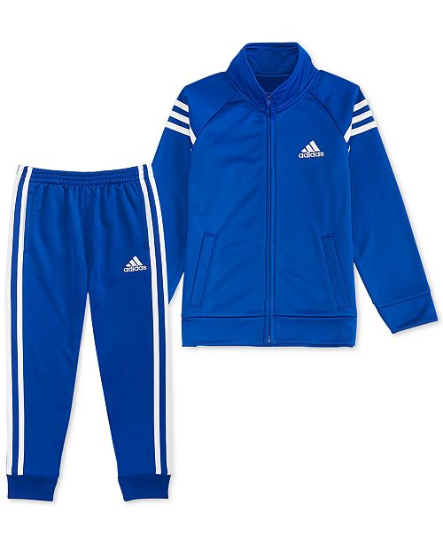abb95c836463 adidas Toddler Boys 2-Pc. Athletic Jacket   Jogger Pants Set - Sets ...